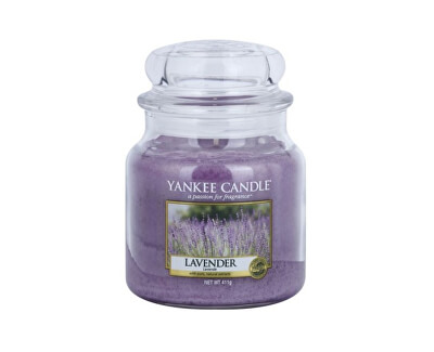 Vonná svíčka Classic střední Levandule (Lavender) 411 g