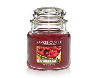 Vonná svíčka Classic střední Zralé třešně (Black Cherry) 411 g
