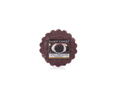 Yankee Candle Vonný vosk do aromalampy Cappuccino Truffle 22 g