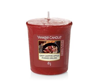 Lumânare aromatică votivă Crisp Campfire Apples 49 g