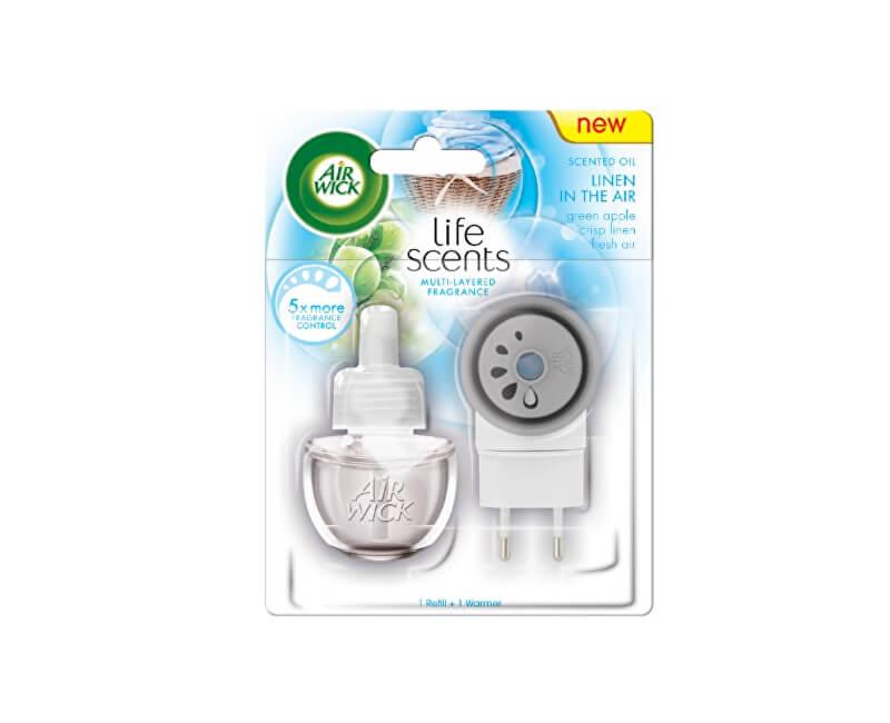 Air Wick Elektrický osvěžovač vzduchu Life Scents Prádlo ve vánku 19 ml