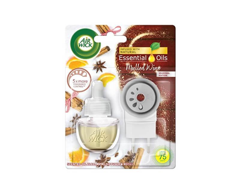 Air Wick Elektrický osvěžovač vzduchu Svařené víno 19 ml