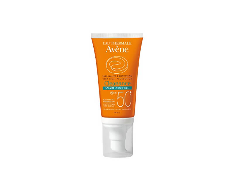 Avène Sluneční ochrana SPF 50+ Cleanance (Very High Protection) 50 ml