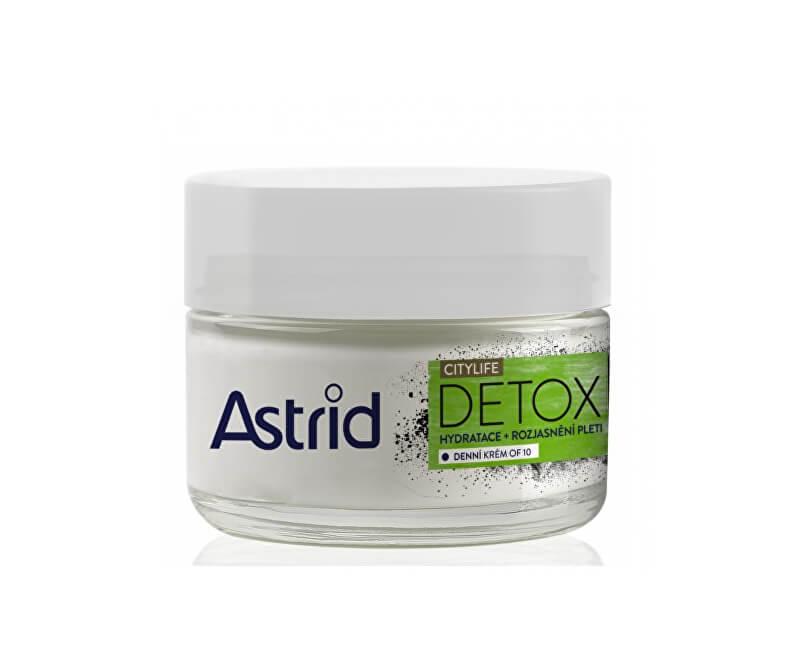 Astrid Hydratačný rozjasňujúci denný krém OF10 CityLife Detox 50 ml