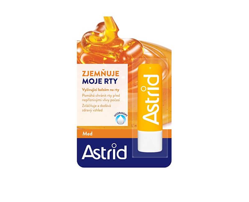 Astrid Ochranná regenerační tyčinka na rty s medem 4 g