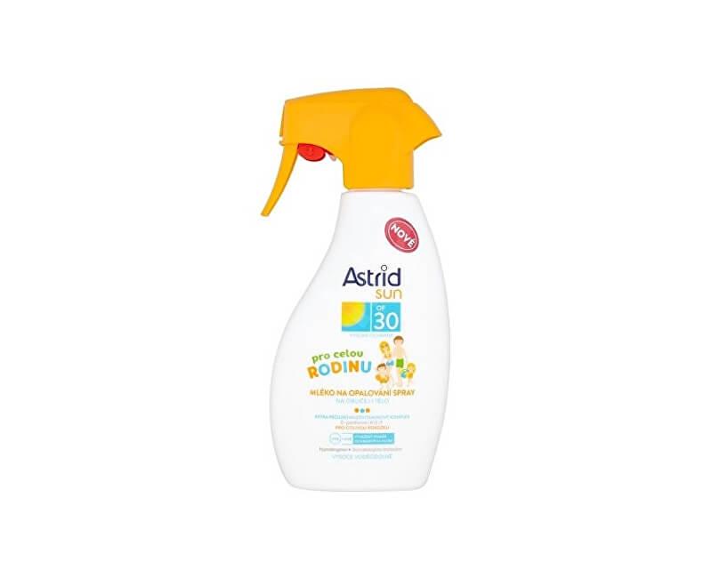 Astrid Rodinné mléko na opalování ve spreji OF 30 Sun 300 ml