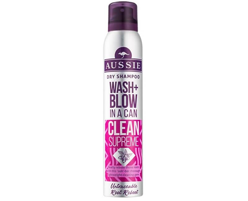 Aussie Suchý šampon Wash+Blow Clean Supreme (Dry Shampoo) 180 ml