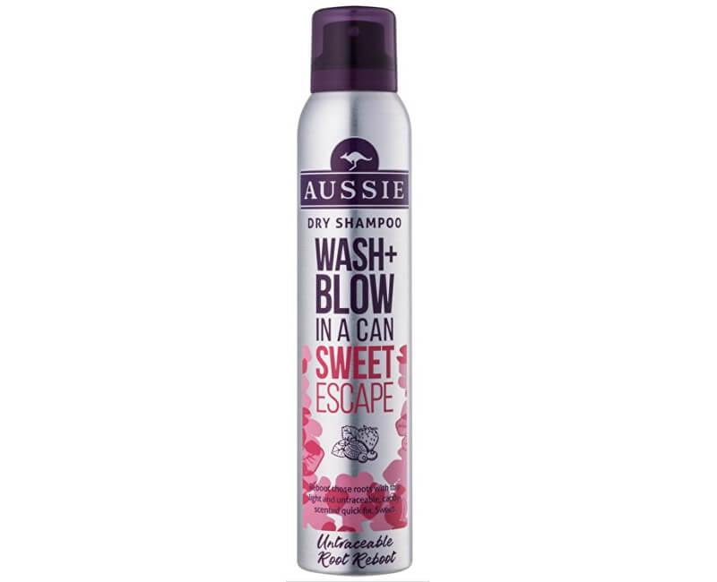 Aussie Suchý šampon Wash+Blow Sweet Escape (Dry Shampoo) 180 ml