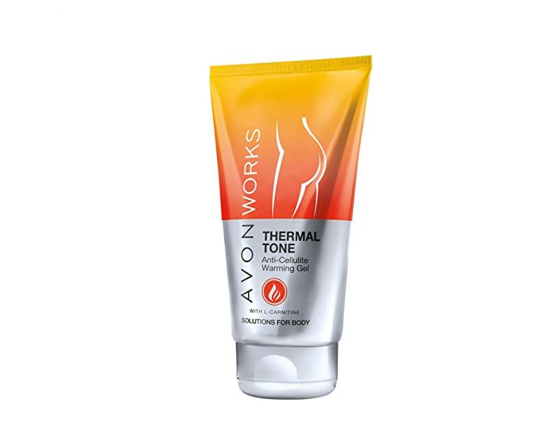 Avon Hřejivý gel proti celulitidě s L-karnitinem (Warming Anti-Cellulite Cream-Gel) 150 ml
