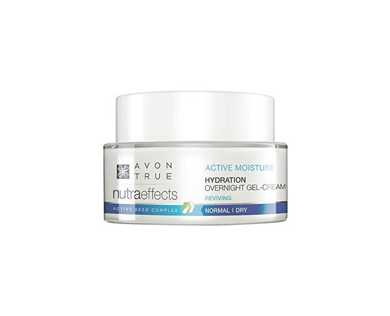 Avon Lehký hydratační noční gelový krém Nutra Effects (Hydration Over Night Gel-Cream) 50 ml