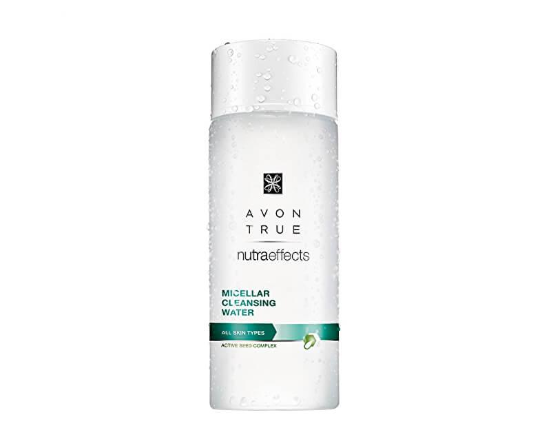 Avon Micelární čisticí pleťová voda pro všechny typy pleti True Nutra Effects (Micellar Cleansing Water) 200 ml