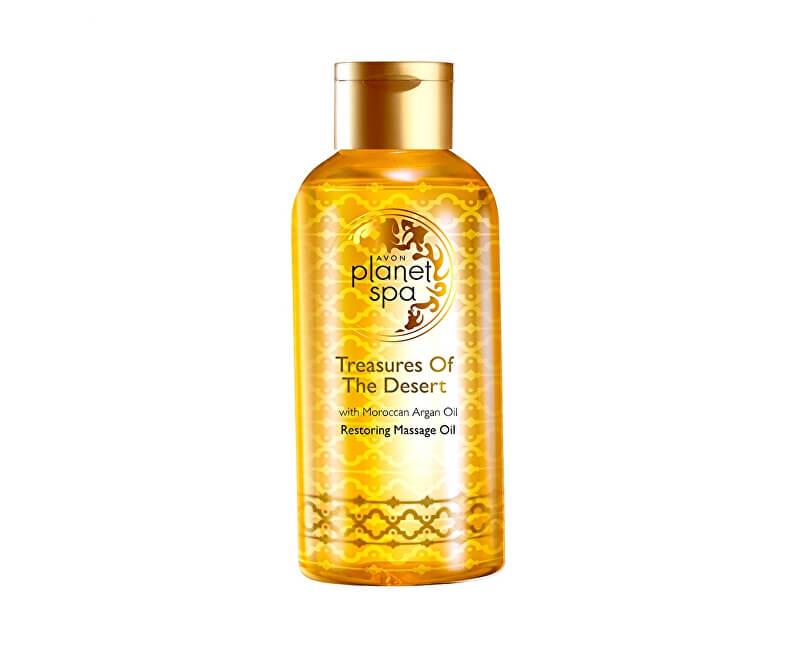 Avon Obnovující masážní olej s marockým arganovým olejem Planet Spa (Treasures Of The Desert) 150 ml