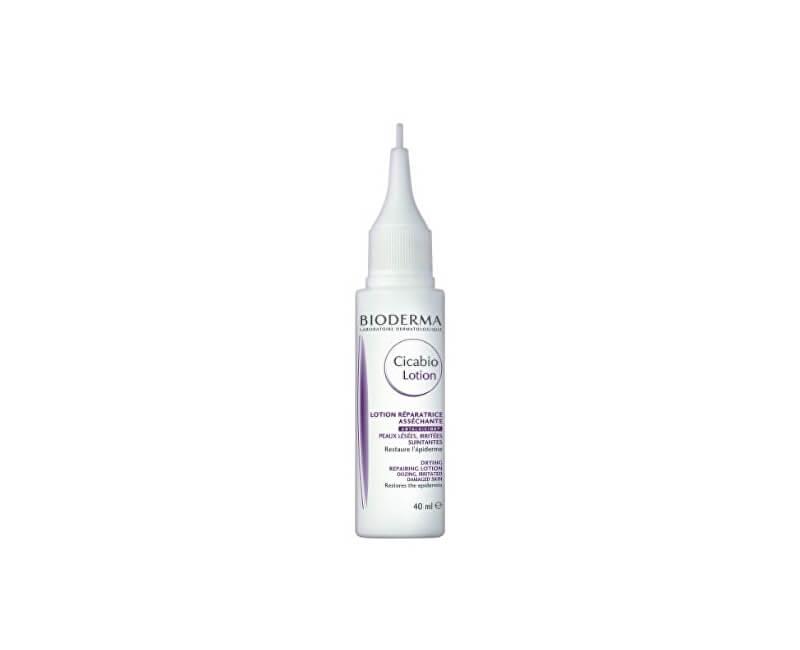 Bioderma Krém pre obnovu porušenej pokožky Cicabio Lotion (Drying Repair ing Lotion) 40 ml