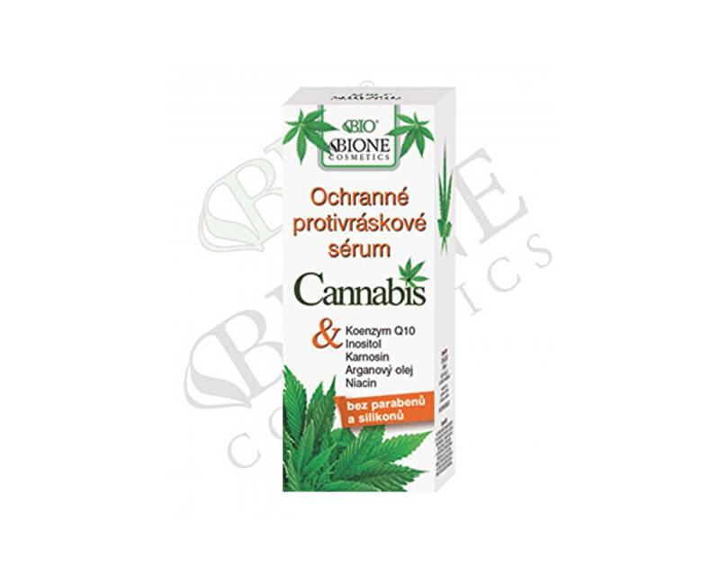 Bione Cosmetics Ochranné protivráskové sérum Cannabis 40 ml
