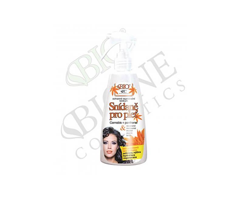 Bione Cosmetics Ochranné regenerační tonikum Snídaně pro pleť Cannabis 260 ml