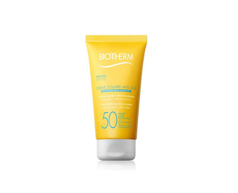 Biotherm Protivráskový krém na opalování SPF 50 Créme Solaire Anti-Age (Melting Face Cream) 50 ml