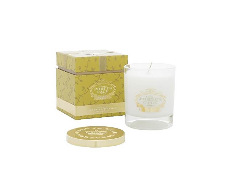 Castelbel Luxusní svíčka ve skle s kovovým víčkem Ovocné víno a švestka 228 g
