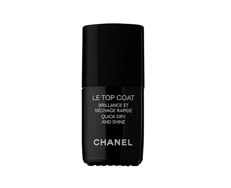 22126638 Vrchní ochranný lak na nehty s leskem Le Top Coat (Quick Dry And Shine) 13  ml