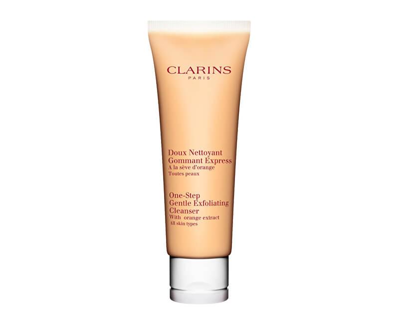 Clarins Expresní peelingový odličovač pro všechny typy pleti (One-Step Gentle Exfoliating Cleanser) 125 ml