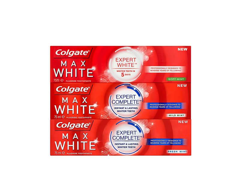 Colgate Zvýhodněné balení zubních past 3 ks