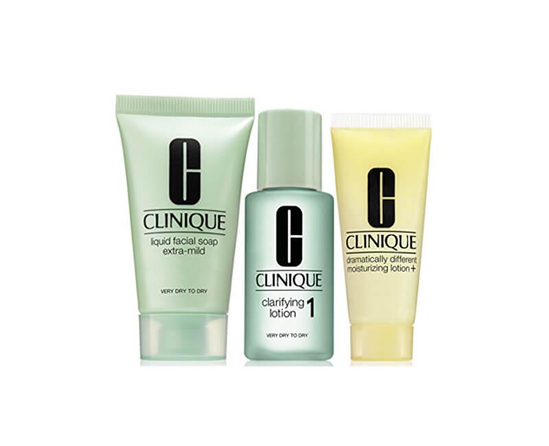 6220e77177 Clinique Čisticí péče pro suchou až velmi suchou pleť (3-Step Introduction  Kit Skin