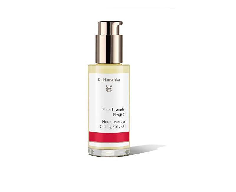 Dr. Hauschka Pěstící tělový olej Levandule s rašelinou (Moor Lavender Calming Body Oil) 75 ml