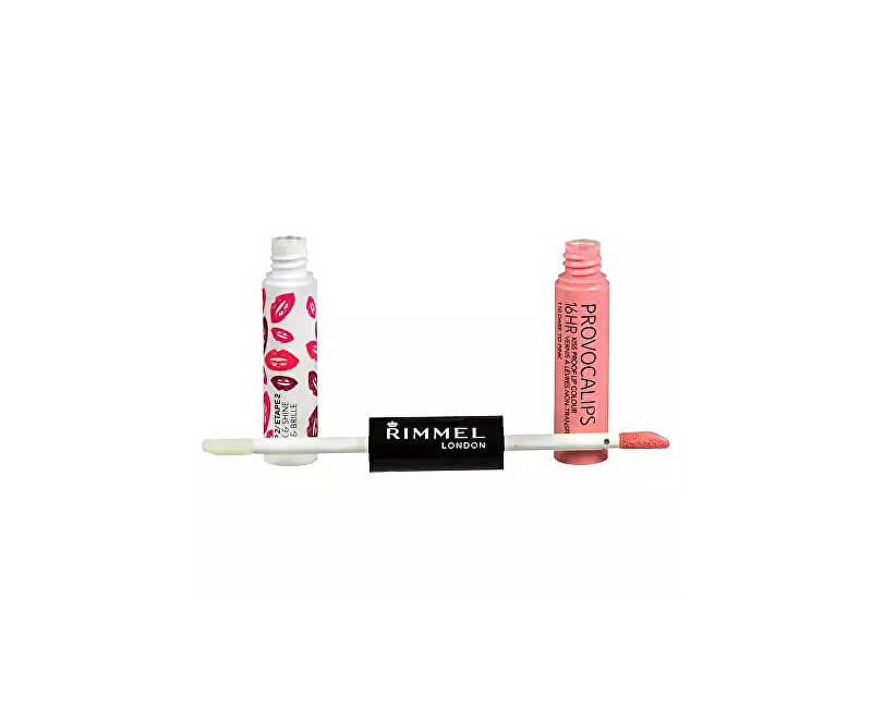 Rimmel Barva a lesk na rty Provocalips 16Hr (Kiss Proof Lip Colour) 3 ml + 4 ml
