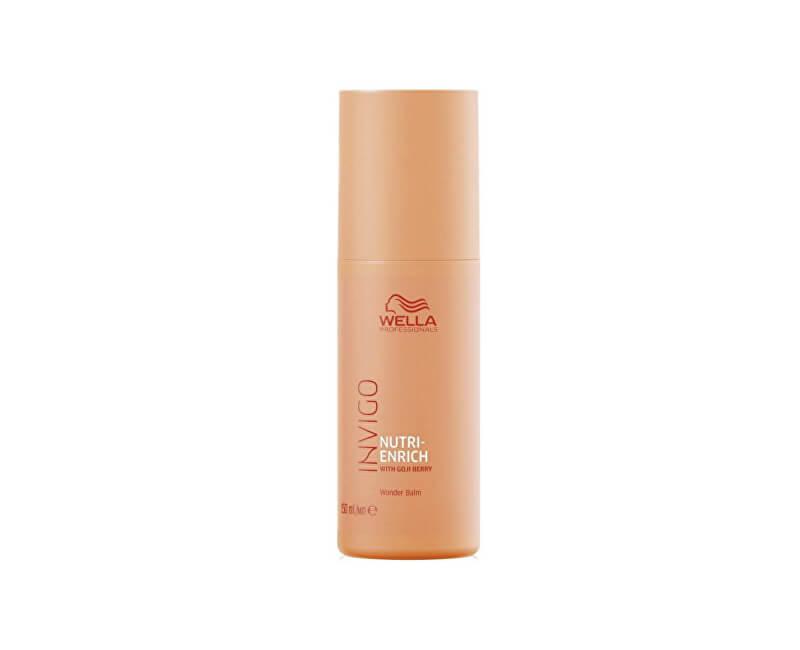 Wella Professionals Bezoplachový balzám pro suché a poškozené vlasy Invigo Nutri-Enrich (Wonder Balm)