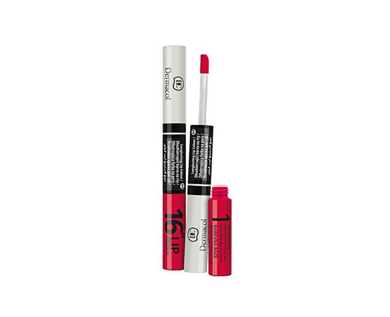 Dermacol Dlouhotrvající barva na rty a lesk 2v1 16h Lip Colour