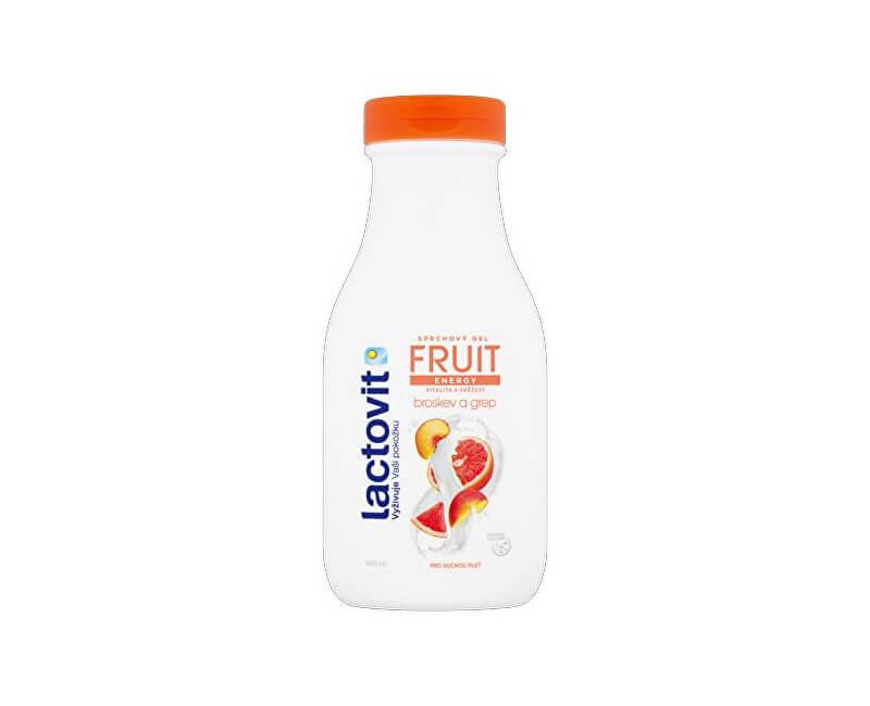 Lactovit Energetický sprchový gel Broskev a grep (Fruit Shower Gel)