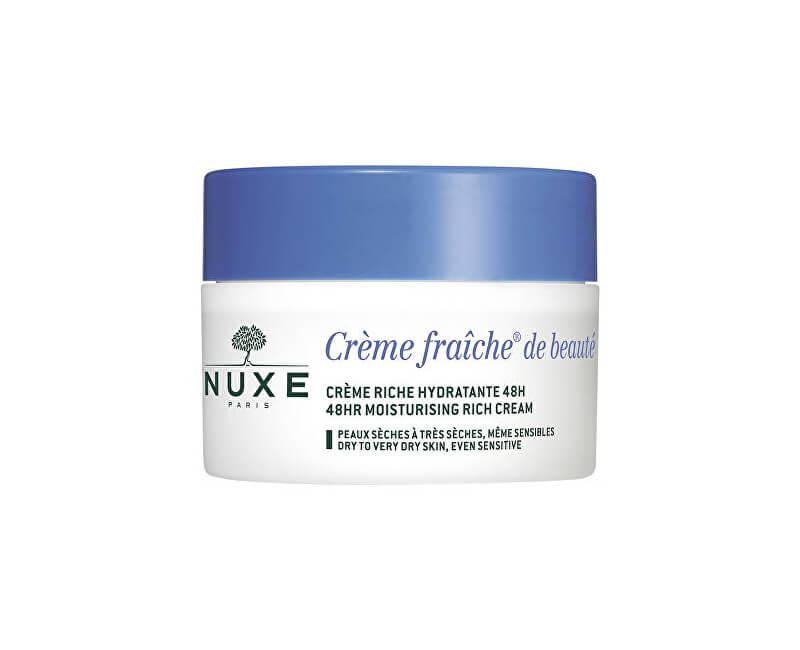 Nuxe Hydratační vyživující krém pro suchou až velmi suchou pleť Creme Fraiche De Beauté (48HR Moisturising Rich Cream)