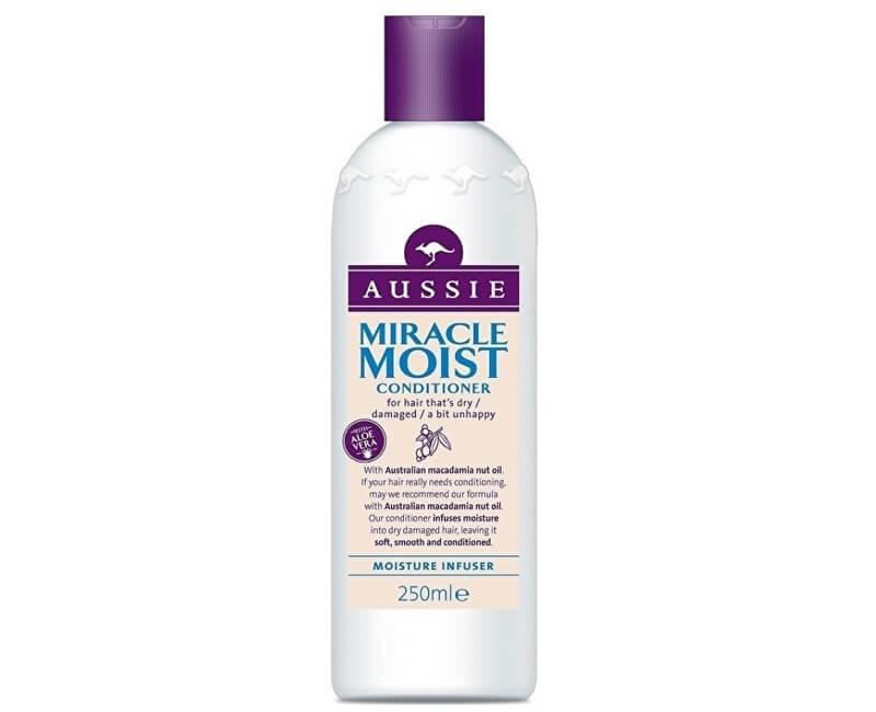 Aussie Kondicionér pro suché a poškozené vlasy Miracle Moist (Conditioner)