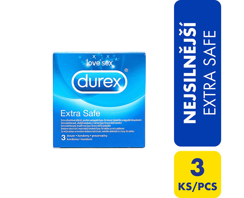 Durex Kondomy Extra Safe