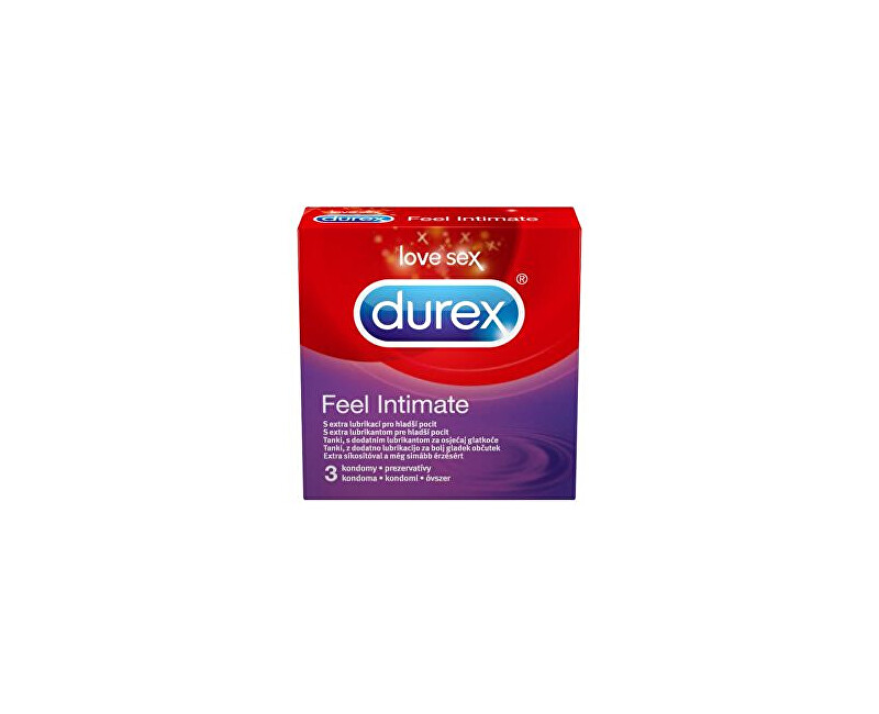 Durex Kondomy Feel Intimate