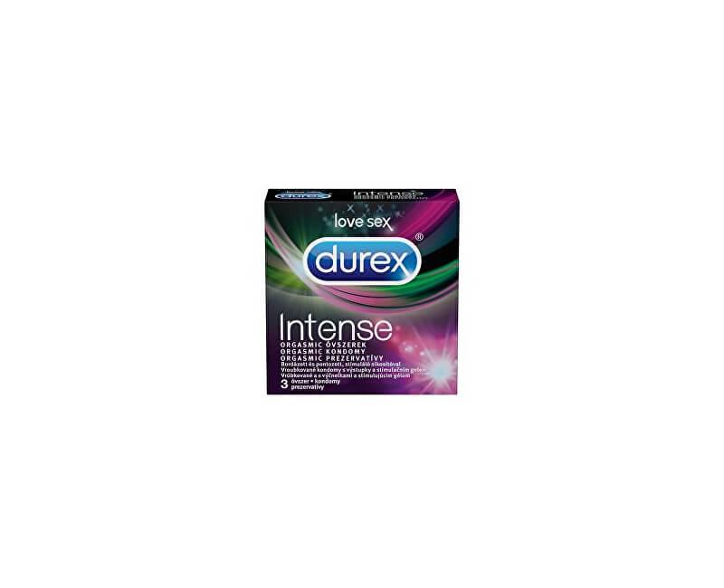 Durex Kondomy Intense Orgasmic