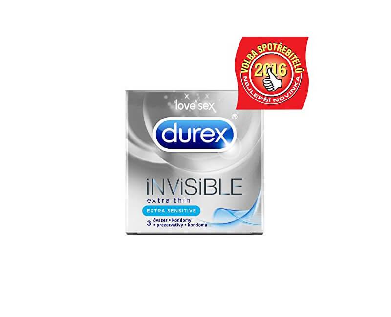 Durex Kondomy Invisible Extra Sensitive