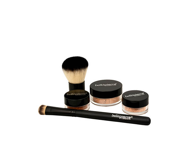 bellápierre Kosmetická sada All Over Face (Contour and Highlighting Kit)