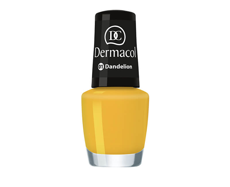 Dermacol Letní mini lak na nehty (Nail Polish Mini Summer Collection) 5 ml