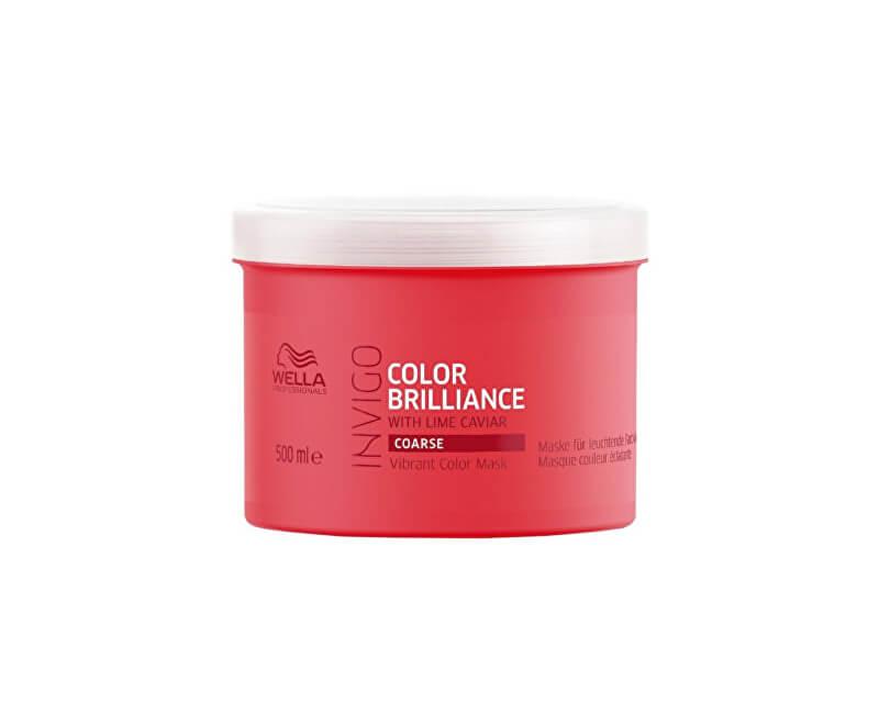 Wella Professionals Maska pro hrubé barvené vlasy Invigo Color Brilliance (Vibrant Color Mask)