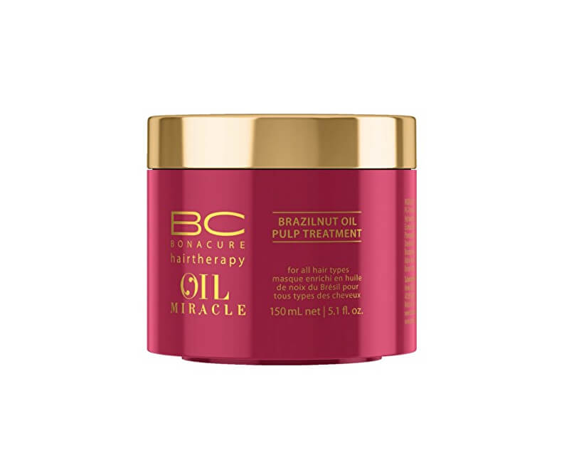 Schwarzkopf Professional Maska pro výživu a hydrataci vlasů BC Bonacure Oil  Miracle (Brazilnut Oil Pulp ... 5d564b95b74