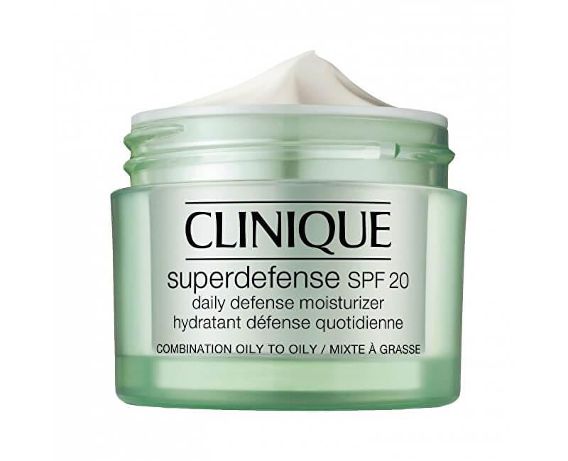 Clinique Ochranný hydratační krém pro smíšenou až mastnou pleť Superdefense SPF 20 (Daily Defense Moisturizer)