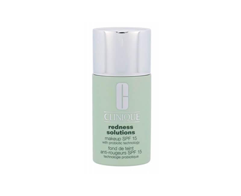 Clinique Ochranný make-up proti zarudnutí pleti SPF 15 Redness Solutions (Makeup SPF 15 With Probiotic Technology) 30 ml