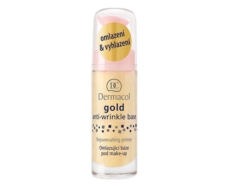 Dermacol Omlazující báze pod make-up se zlatem (Gold Anti-Wrinkle Base)