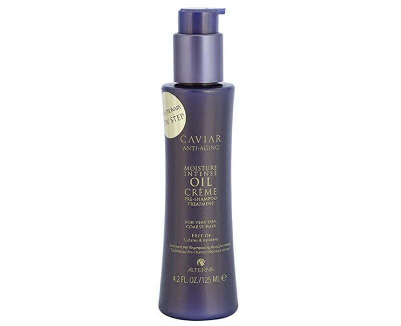 Alterna Před-šamponová péče pro velmi suché vlasy Caviar Anti-Aging (Moisture Intense Oil Créme Pre-Shampoo Treatment)