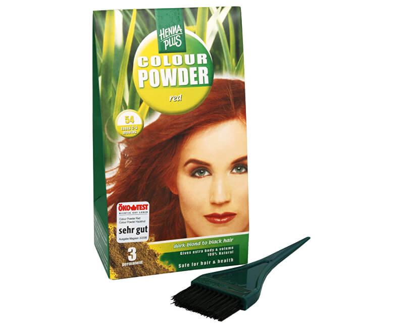 HennaPlus Přírodní prášková barva (Colour Powder)