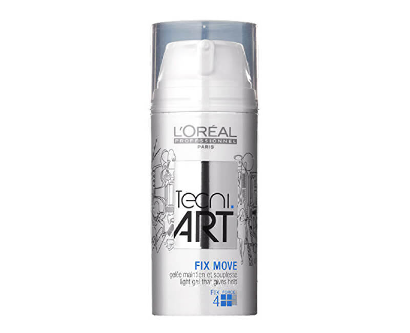 Loreal Professionnel Pružný fixační gel Fix Move (Light Gel That Gives Hold)