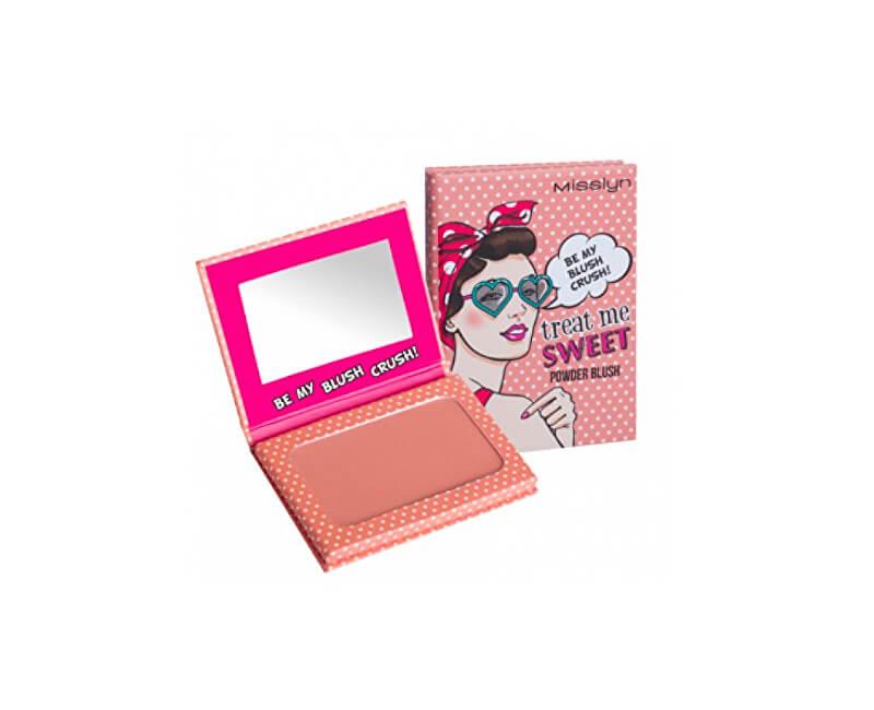 Misslyn Pudrová tvářenka Treat Me Sweet (Powder Blush) 6 g