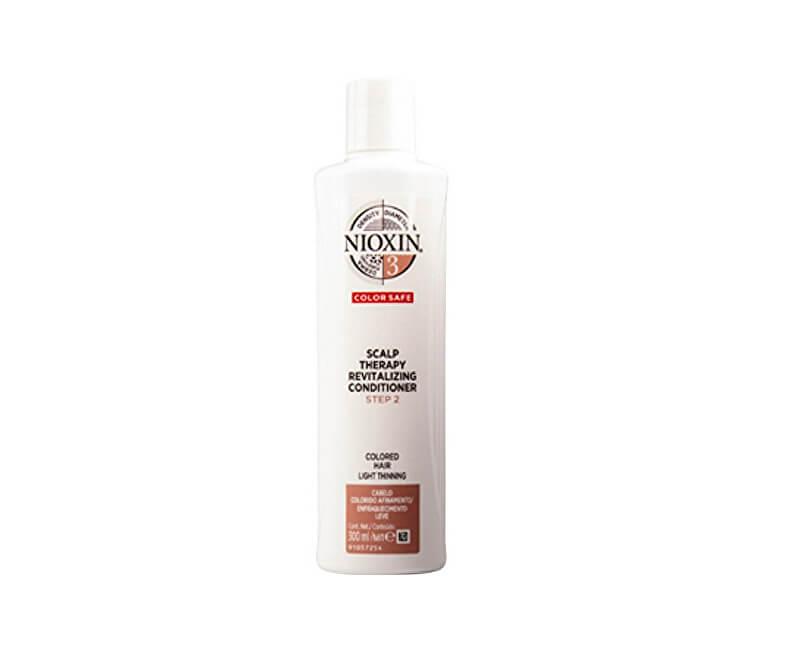 Nioxin Revitalizér pokožky pro jemné barvené mírně řídnoucí vlasy 3D System 3 Color Safe (Scalp Therapy Revitalizing Conditioner)