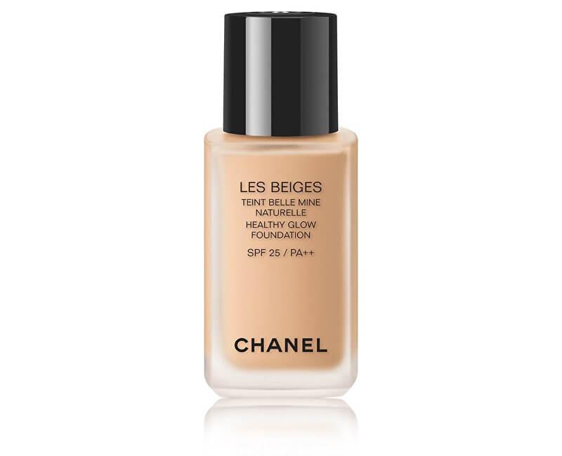 Chanel Rozjaňující make-up pro přirozeně svěží vzhled pleti Les Beiges SPF 25 (Healthy Glow Foundation) 30 ml