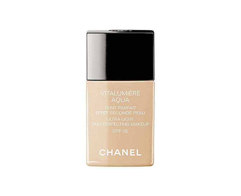 Chanel Rozjasňující hydratační make-up Vitalumiere Aqua SPF 15 (Ultra-Light Skin Perfecting Makeup) 30 ml